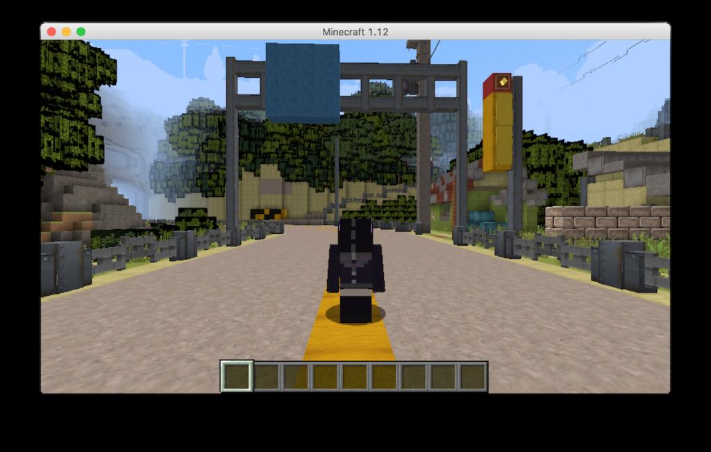 Minecraft千と千尋オープニング